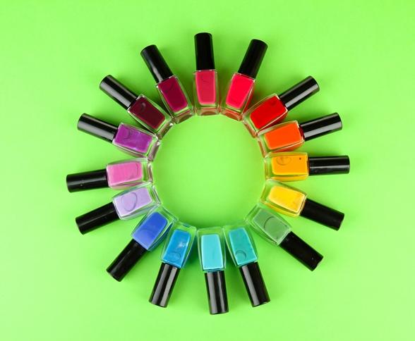 cores de unhas em 2013